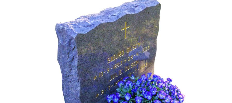 Lakk til gravstein